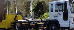 Camio Josep Maria Servei de minicarregadora Bobcat
